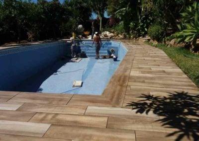 Ремонт бассейна в Марбелье